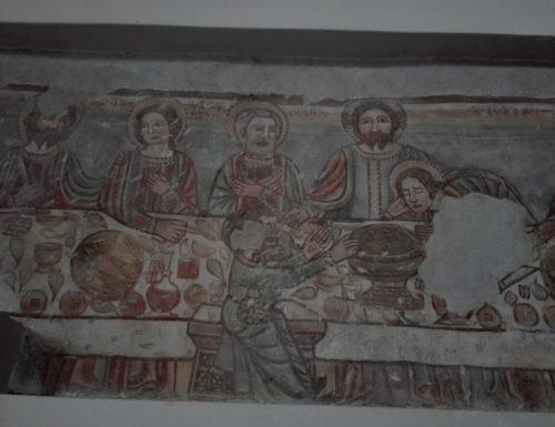 L'Ultima Cena di Branico: fotografia di un pasto trecentesco!
