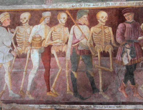 Fine XV secolo: Medioevo o no? Le decorazioni dell'Oratorio dei Disciplini di Clusone