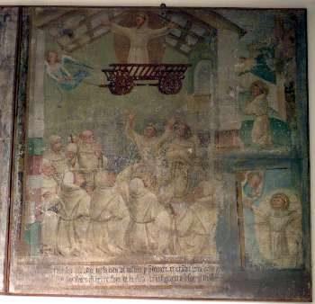 Bergamo alternativa: Jacopino Scipioni e il suo ciclo francescano in Santa Maria delle Grazie